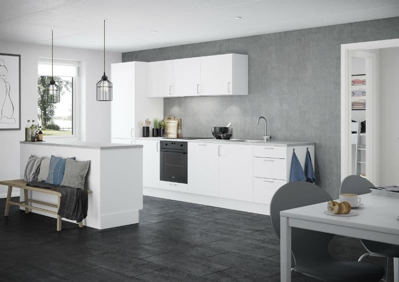 Køkken Basic Hvid