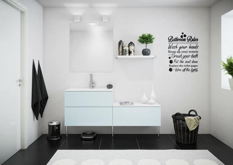 Paris colour aqua blå badeværelse